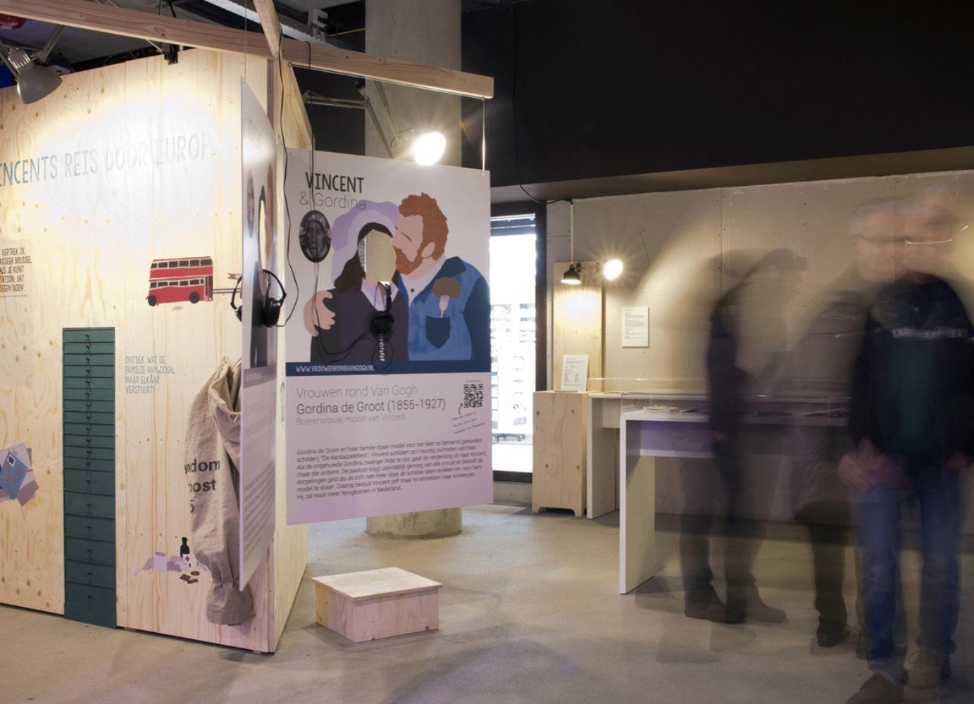 van gogh pop-up expositie